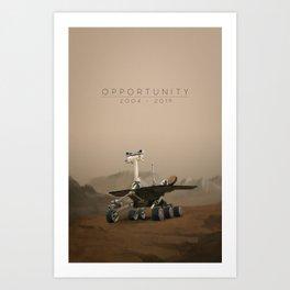 Opportunity / 2004 - 2019 Art Print