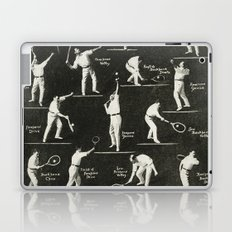 gentlemen prefer tennis Laptop & iPad Skin