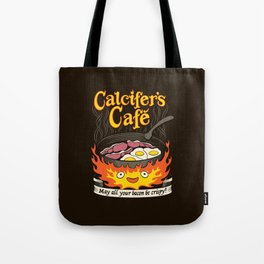 Calcifer's Cafe Tote Bag