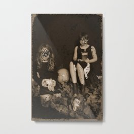 Haunted Photograph Metal Print