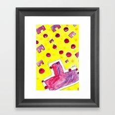 Ao Tu Tomato! Framed Art Print