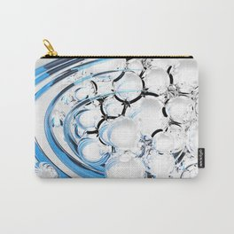 Abstract glossy white sphere Carry-All Pouch