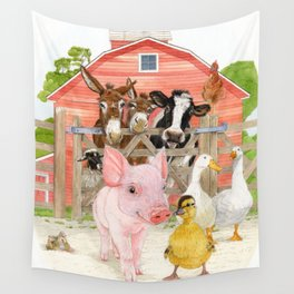 The Farm Wall Tapestry
