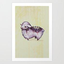 Icing Art Print