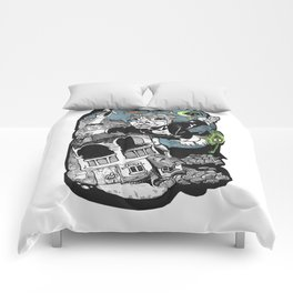 One of those flying dreams Comforters