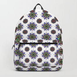 New Loops Peacock repeat Backpack