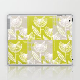 Patchwork Flowers Laptop & iPad Skin
