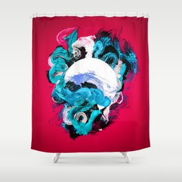 In Circle - II Shower Curtain
