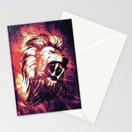 Power of the Lion Stationery Cards