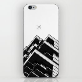56 Leonard Street skyscraper in Tribeca, New York City iPhone Skin