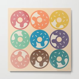 DonutTime Metal Print