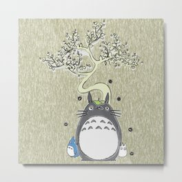 Will you be my neighbor Totoro? Version 2 Metal Print