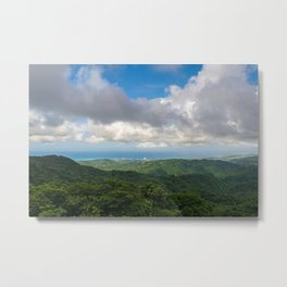 P El Yunque National Forest Rain forest Puerto Rico Metal Print
