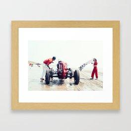 Pendine Sands 1c Framed Art Print