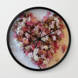 heart for you Wall Clock