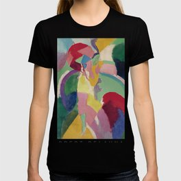 La Parisienne - Robert Delaunay - Art Poster T-shirt