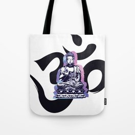 Ohm Wave Tote Bag