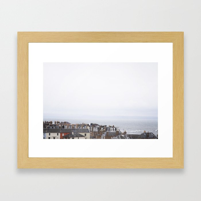 Seaside 01 Framed Art Print
