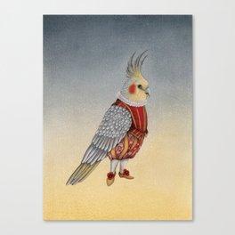 Petit monsieur Maxime Canvas Print