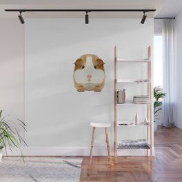 Guinea Pig Dad Daddy Father Rodent Wheek Gift Idea Wall Mural