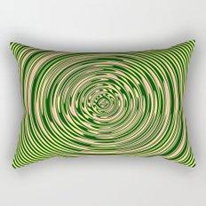 Warped Rings Rectangular Pillow