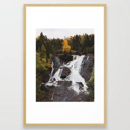 Eagle River Falls | Upper Peninsula, Michigan | John Hill Photography Framed Art Print