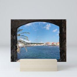 The View To Curacao Mini Art Print