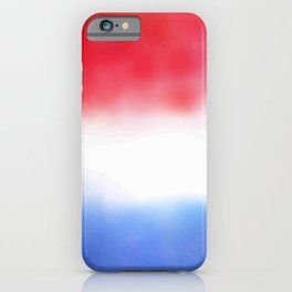 Flag of Netherlands 3 - with cloudy colors iPhone Case