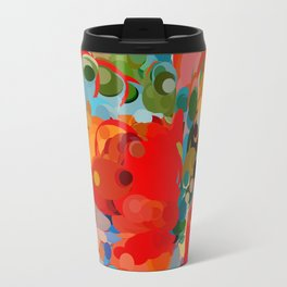 color bubble storm Travel Mug