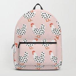 Dot Dot Chicken | Pink Backpack