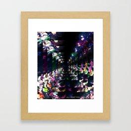 Forest of Glass Framed Art Print