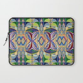 Butterfly mosaic - brightly colored pattern Laptop Sleeve