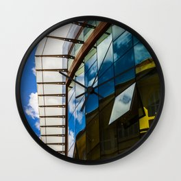 Modern and classic architecture Wall Clock