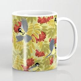 Tits on a mountain ash Coffee Mug