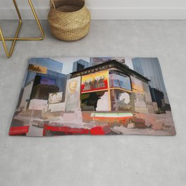 Times Square III (semi abstract) Rug