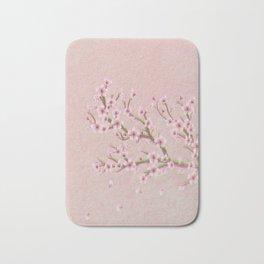 Cherry Blossom Branch Bath Mat
