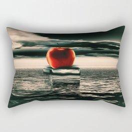 der rote Apfel Rectangular Pillow