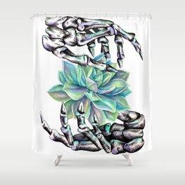 Death Grip Shower Curtain