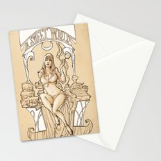 I want to live in a SWEET WORLD! Stationery Cards