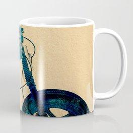 Metalic Blue Coffee Mug