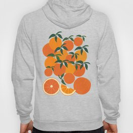 Orange Harvest - Blue Hoody