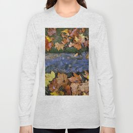 Alhambra Palace forest in autumn Long Sleeve T-shirt