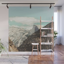 Half Dome Peek Wall Mural