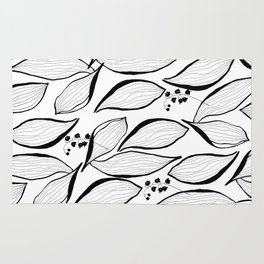 lilies of the valley Rug