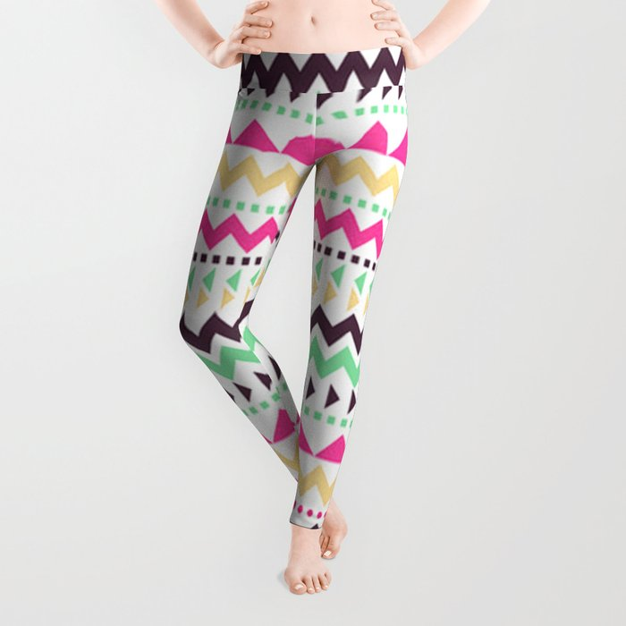 Tribal Pattern 02 Leggings