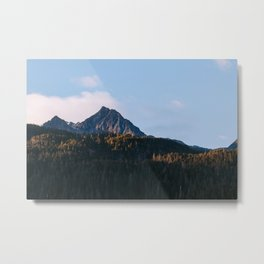 Mountain - Kenai Fjords National Park Metal Print