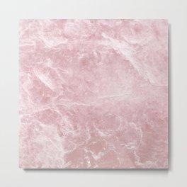 Enigmatic Blush Pink Marble #1 #decor #art #society6 Metal Print