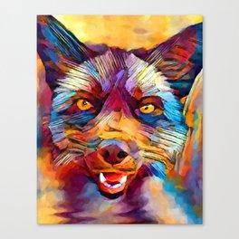 Fox 7 Canvas Print