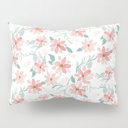 spray of flowers pattern Pillow Sham