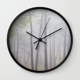 """Deep forest"". looking for the sun .... Wall Clock"